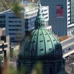 Dôme de la cathédrale de Montréal