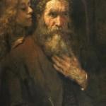 Rembrandt, Saint Matthieu inspiré par l'ange, 1661