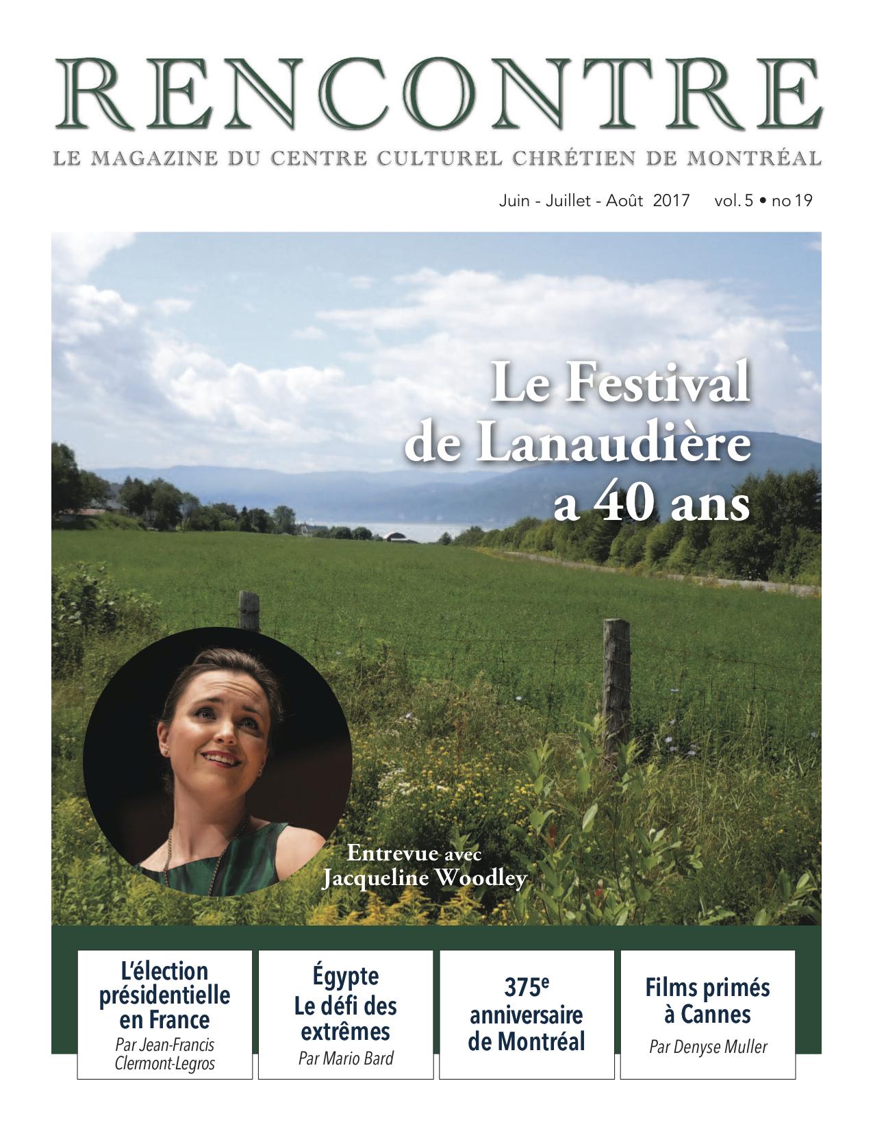 Webzine Rencontre, no 19