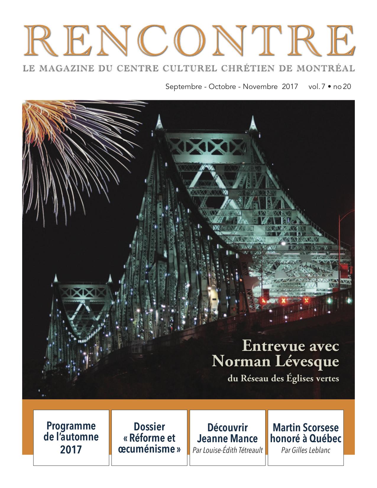 Page couverture no 20 Rencontre